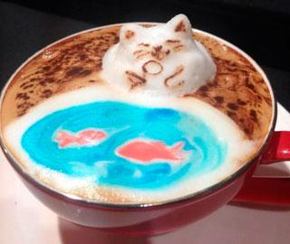 Кофе 3D Латте-Арт от Кохеи Матсуно