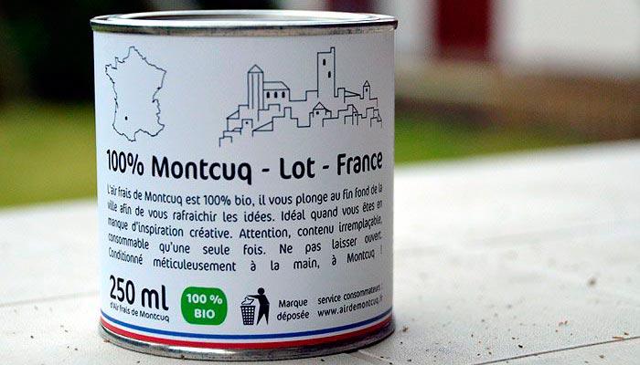 Французский Студент Продает Консервированный Свежий Загородный Воздух