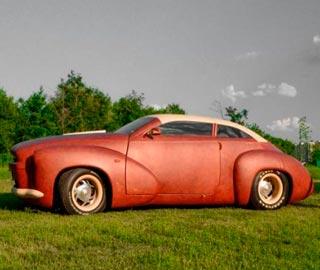 Кожаный Автомобиль - Полностью Обтянутый Кожей Канадских Бизонов