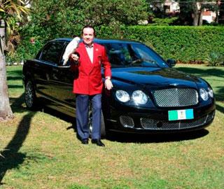 Современный Фараон:  Бразильский Бизнесмен Хочет Взять Свой Bentley с Собой в Могилу