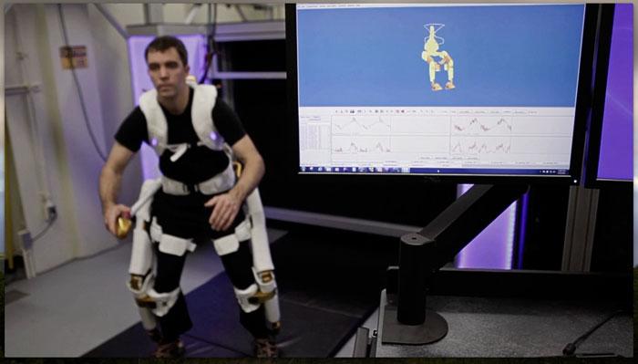 X1 Роботизированный Экзоскелет NASA