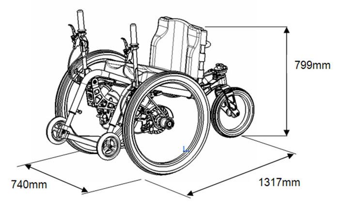 Инвалидная Коляска для Бездорожья - Mountain Trike