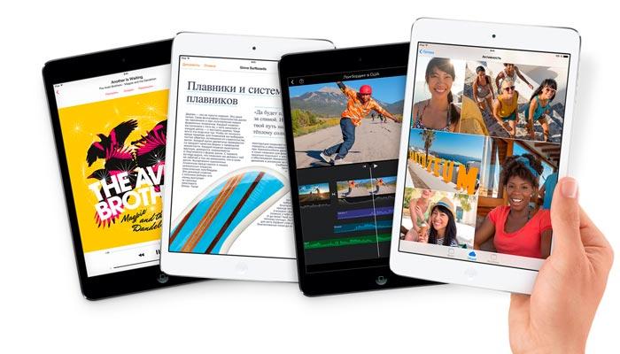 I место — планшет iPad mini