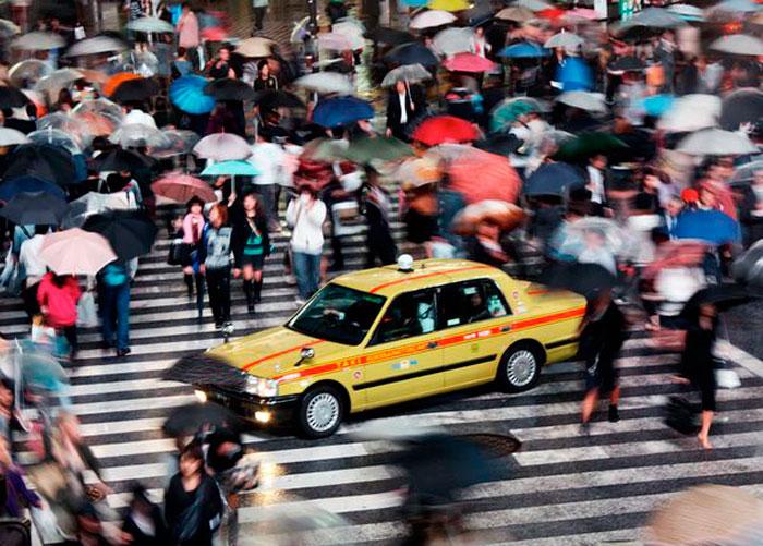 Такси, Токио