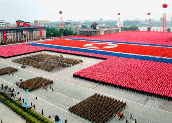 Северокорейские Военные Парады