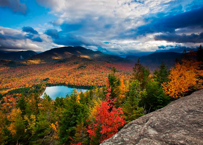 Осенний Пейзаж, Адирондаке