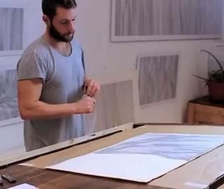 Каждая Строка на Одном Дыхании - Художник Создает Медитативные Рисунки по Одной Линии