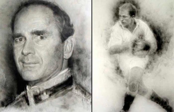 Монохромные Картины из Дыма - Майкла Феннелля