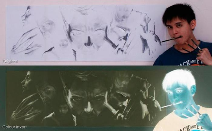Брайан Лай Уму – Мастер Негативных Рисунков