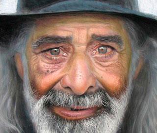 Рубен Беллосо Адорна – Реалистичные Рисунки Пастелью