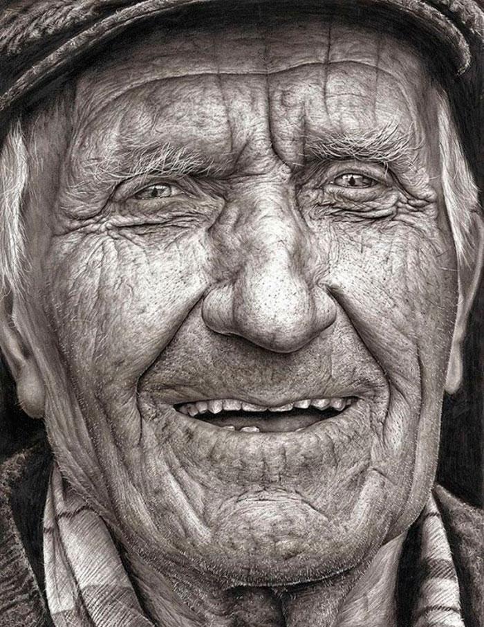Реалистичные Портрет Карандашом 16-летней Шании Макдонах