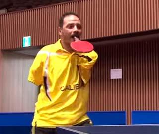 Ибрагим Хамато – Игрок в Пинпонг Без Рук