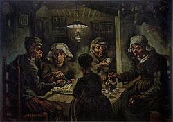 Винсент Ван Гог - Едоки Картофеля