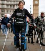 Парализованная Claire Lomas Преодолела Лондонский Марафон