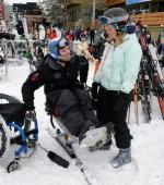 Инвалидное Кресло и Катания на Лыжах