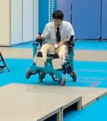 Робот Инвалидная Коляска Способный Подниматься по Лестнице